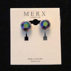 Merx Iridescent Studs